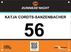 Katjas Freud und Leid auf der Runners' Night