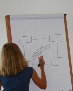 Coaching-Tool Entwicklungsquadrat